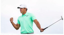 Koepka Captures First Major, Ties U.S. Open Record