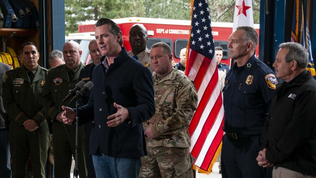 Governor Newsom Outlined State Efforts to Fight Wildfires & Ensure Stable Power Grid