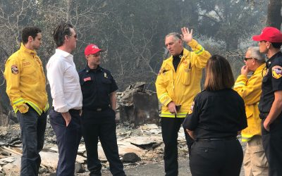 Governor Newsom Issues Executive Order to Support Communities Recovering from October Fires