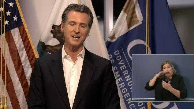 Governor Newsom Gives Update on COVID-19 Response