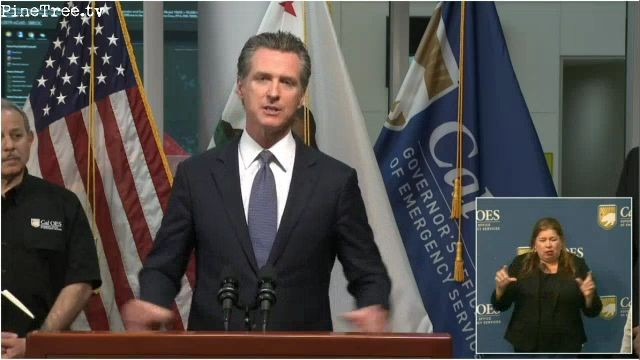 Governor Gavin Newsom Issues Stay at Home Order for 40 Million Californians