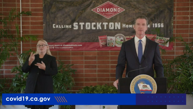 In Stockton, Governor Newsom Announced Actions to Slow the Spread of COVID-19 in the Central Valley