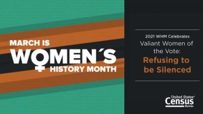 Women's History Month: March 2021