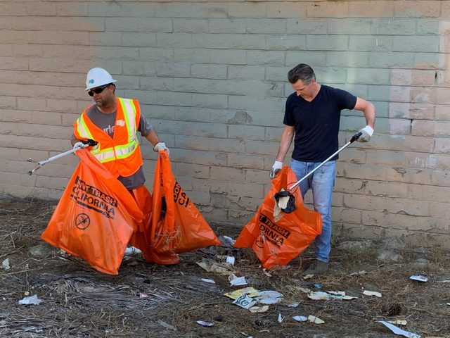 Governor Newsom Outlines Approach to Clean & Safe Streets For All During Visit to Clean California Site in Long Beach